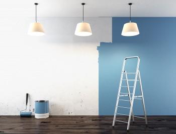 Stuc- en schilderwerk