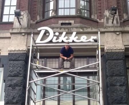 Gevel Dikker & Thijs, Amsterdam