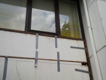 Vervangen van houten panelen voor trespa platen